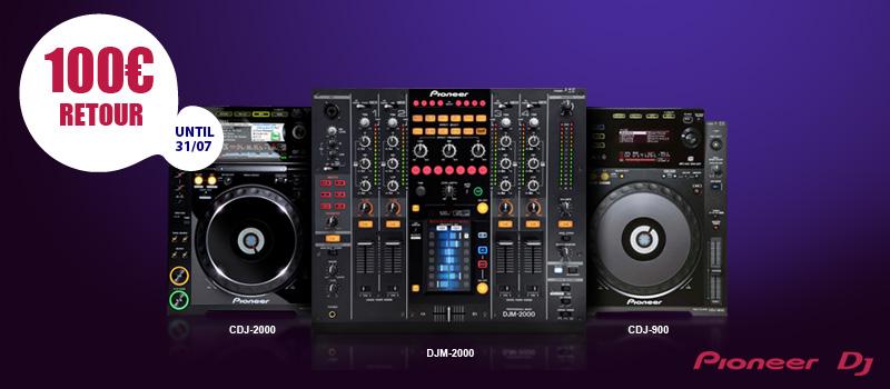 Pioneer DJ actie