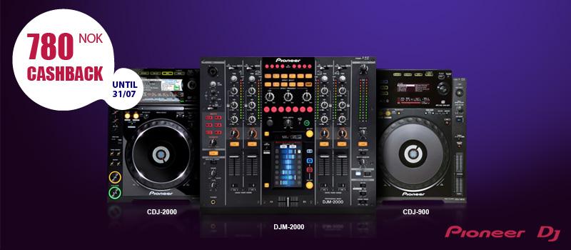 Pioneer DJ –Cashback-kampanjen