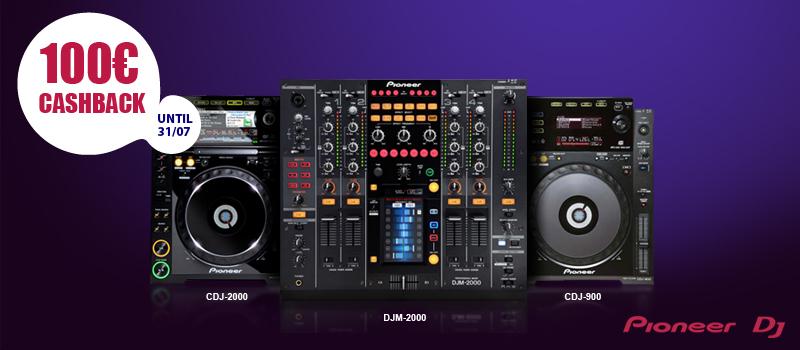 Pioneer DJ Cashback Promotion
